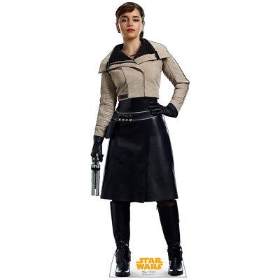 QI'RA Solo: A Star Wars Story CARDBOARD CUTOUT Standup Standee Emilia Clarke F/S