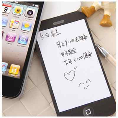 Cell Phone Mobile Sticky Note Paper Memo Pad Scratch Pad Stationery Xmas Gift