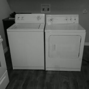Kenmore washer and dryer in great working condition.