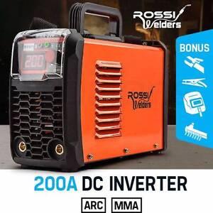 NEW ROSSI 200Amp Welder Inverter MMA ARC Welding Machine DC iGBT Leichhardt Leichhardt Area Preview