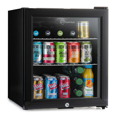 Subcold Super 50 LED Black | Mini Fridge | UK's Top Selling Beer Fridge