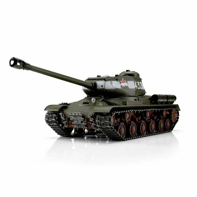 RC Panzer 1:16 russ.  IS-2 (JS-2) Taigen Profi Metall Edition IR  u RRZ  2,4GHZ