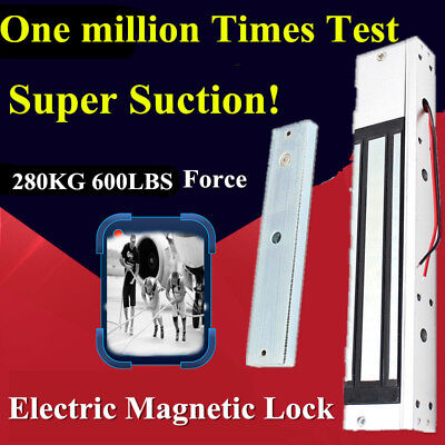 Dc12v Electric Magnetic Lock For Door Access Control Systemdoor Intercom 280kg