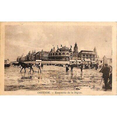 Ostende - Ensemble de la Digue.