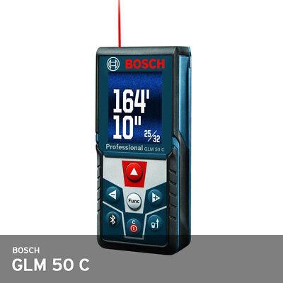 Bosch Glm 50 C Laser Distance Meter 165ft 1.5mm 1.5v 2xaaa 106x45x22mm Free Ups