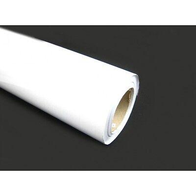 (1,27€/1qm) Transparente Laminierfolie hochglanz selbstklebend 63cm x 50m glossy