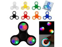 LED / FLASHING FIDGET SPINNER (ON/OFF BUTTON)