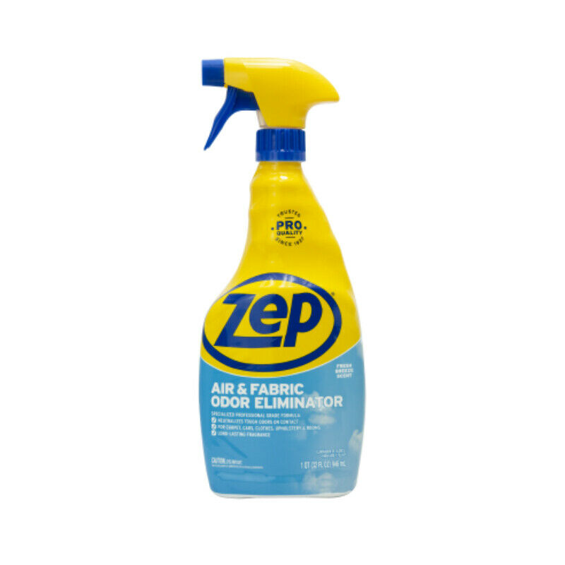 Zep Commercial ZUAIR32 Air & Fabric Odor Eliminator, Fresh, 32 Oz