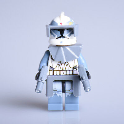 Star Wars Commander Wolffe Fit Lego Wolf Pack Free P&P Minifig Custom UK