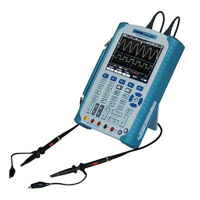 Portable Digital Oscilloscope Dmm 60100200mhz Lcd 1gsas Isolated Level 1000v
