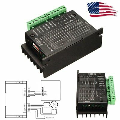 Cnc Single Axis 4a Tb6600 24 Phase Hybrid Stepper Motor Drivers Controller New