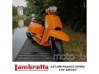 Lambretta V 125cc Special Modern Classic Retro Automatic Scooter Moped For Sa...