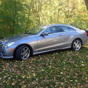 2010 Mercedes-Benz E-Class E350 Coupe (2 door)
