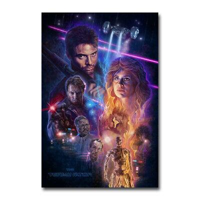 The Terminator Classic Movie Silk Canvas Poster Hot Art Print Shop Room 24x36