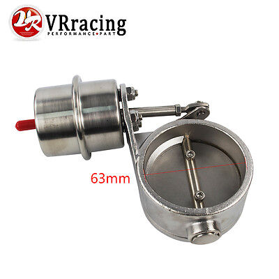 2.5'' 63mm Vacuum Activated Exhaust Cutout Valve Close Style Pressure About 1Bar