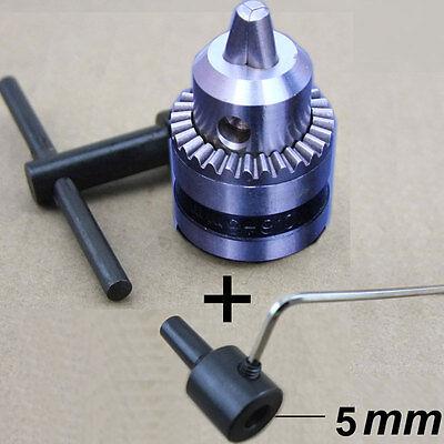 New B12 Drill Clip 1.5-10mm Small Drill Chuck Precision Chuck Connection5mm
