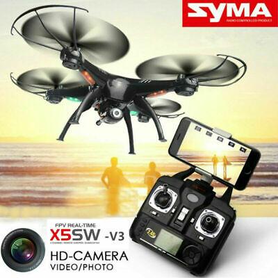 Syma X5SW-V3 6-Axis Wifi FPV 360° Turn Explorers RC Quadcopter Drone+HD Camera