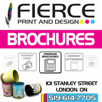 Full Colour Premium Brochures – Professionally Printed!