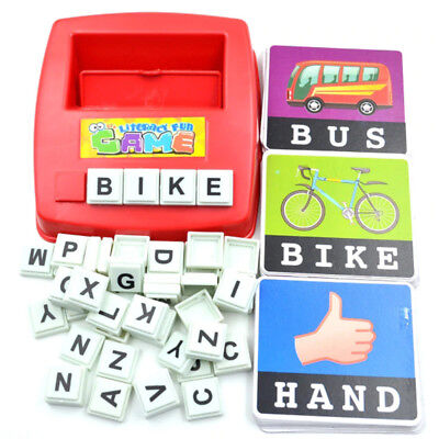 Alphabet Letters Card Game Learn English Language ABC Child Educational Toy Gift