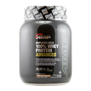 GNC Pro Performance AMP Amplified Gold 100 % Whey Protein Advanced - Chocolate