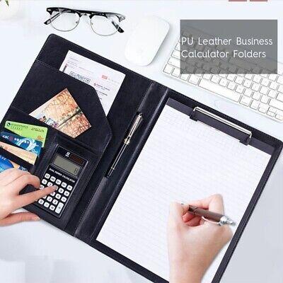 Portable A4 File Folder Multifunctional Folders Paper 812 Bit Calculator Usa