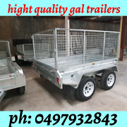 8c5 HOT DIP TANDEM TRAILER GALVANISED TOP GUALITY Noble Park Greater Dandenong Preview