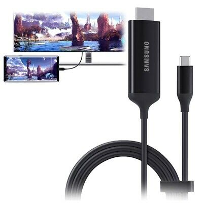 Genuine Samsung S21 ULTRA DeX Adapter Cable USB-C to HDMI audio video...