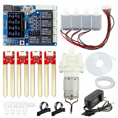 Automatic Diy Plant Smart Watering Kit Pump For Arduino Electronicoled Screen