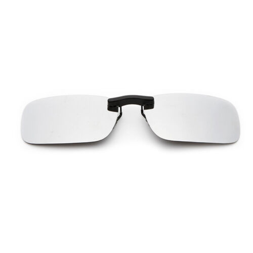 Polarized Sunglasses Clip On Driving Glasses Day Night Vision Lens UV400 TOP