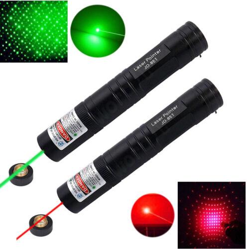 Starry Red Green 5mW Laser Pointer Lazer Presentation PPT Pen Visible Beam Zoom