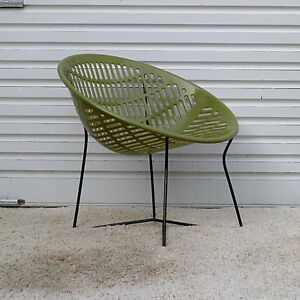 Mid Century Modern Outdoor Solair Chair