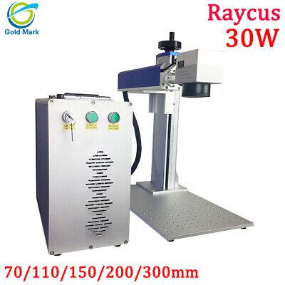 30w Raycus Fiber Laser Marking Machine Metal Non-metal Engraving Steel Engraver