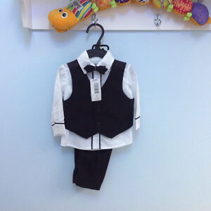 New baby boys suit- size 0-6 months