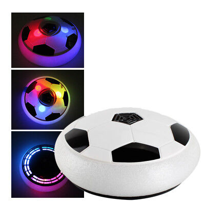Sports Ball Air Power Soccer Disk Bright Light Electric Suspension Football Toy