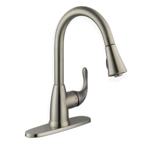 GLACIER BAY Market  Pull-Down Sprayer Kitchen Faucet