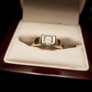 Princess Cut Solitaire Engagement Ring - $4,500 OBO