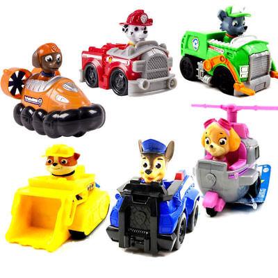 Set of 6 Paw Patrol Pup Deluxe Spiel Figuren - Spielfiguren Spielzeug (Pup Patrol Spiele)
