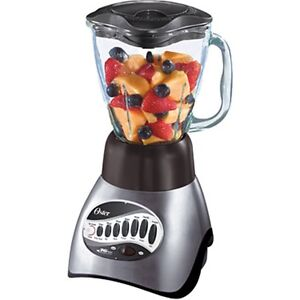Blender w/ Stainless Steel Blade & Glass Jar (Like new)(paid $70