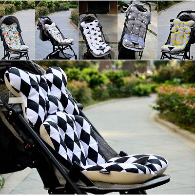 Universal Newborn Baby Car Seat Stroller Cushion Pad Liner Mat Cotton Pillow hot