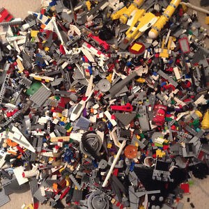 Lego parts; great for Lego enthusiasts and builders