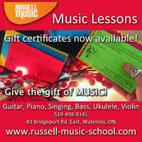 Learn To Love Music at Russell Music Teaching Studios!