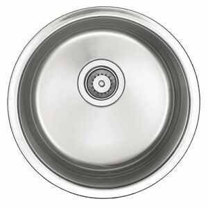 "16"" Round BAR SINK - PREP Sink - Doctor/Dentist Office Sink"