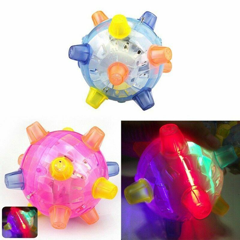 Singing Dancing Flashing and Bouncing Ball Bumble Night Toy