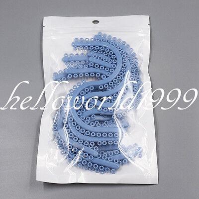 700 Pieces Dental Orthodontic Separate Tie Molded Separators Ligature Blue Color
