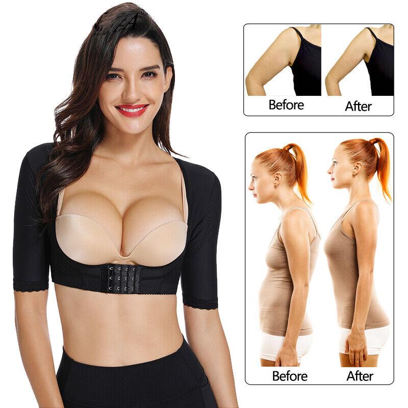 women s seamless upper arm shaper compression