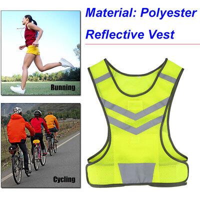 Hi-vis Safety Vest Reflective Jacket Security Waistcoat Construction Traffic