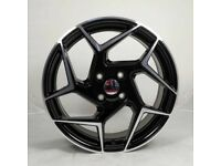 """17"""" F-ST Style Wheels & Tyres suitable for a Ford Fiesta Etc"""