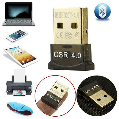 Bluetooth 4.0 Adapter Mini USB 2.0  Stick BT V4.0 EDR Dongle High Speed CSR Nano Bluetooth 2.0 Edr