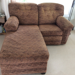 Chaise lounge/recliner combo