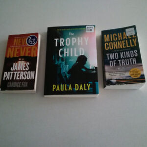 Just $8 for three books. Check out my other ads!